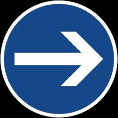 Freccia direzione