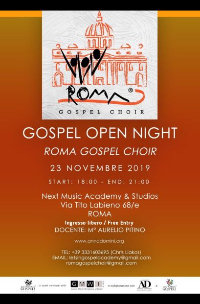2019_Roma Open Night_Locandina_01